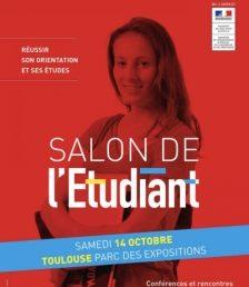 Rejoignez nous au salon de l'étudiant à Toulouse le 14 octobre
